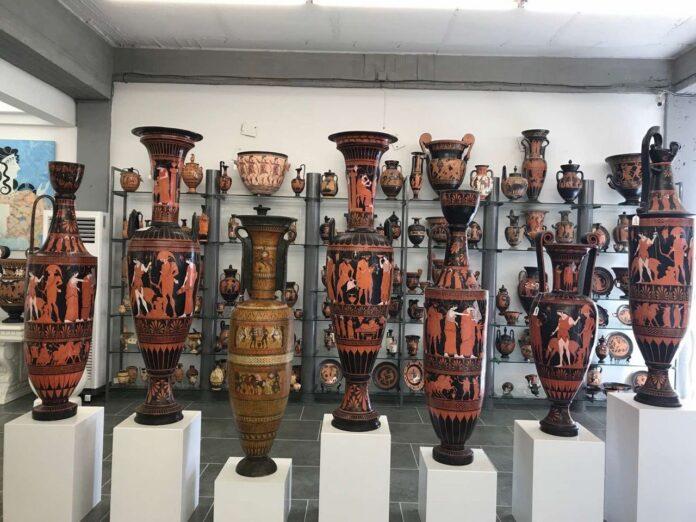 amforas greek museums