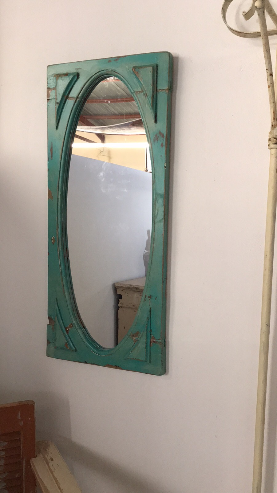old window mirror