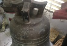 old authentic bell