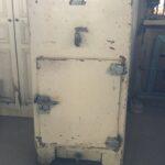 old ice refrigerator
