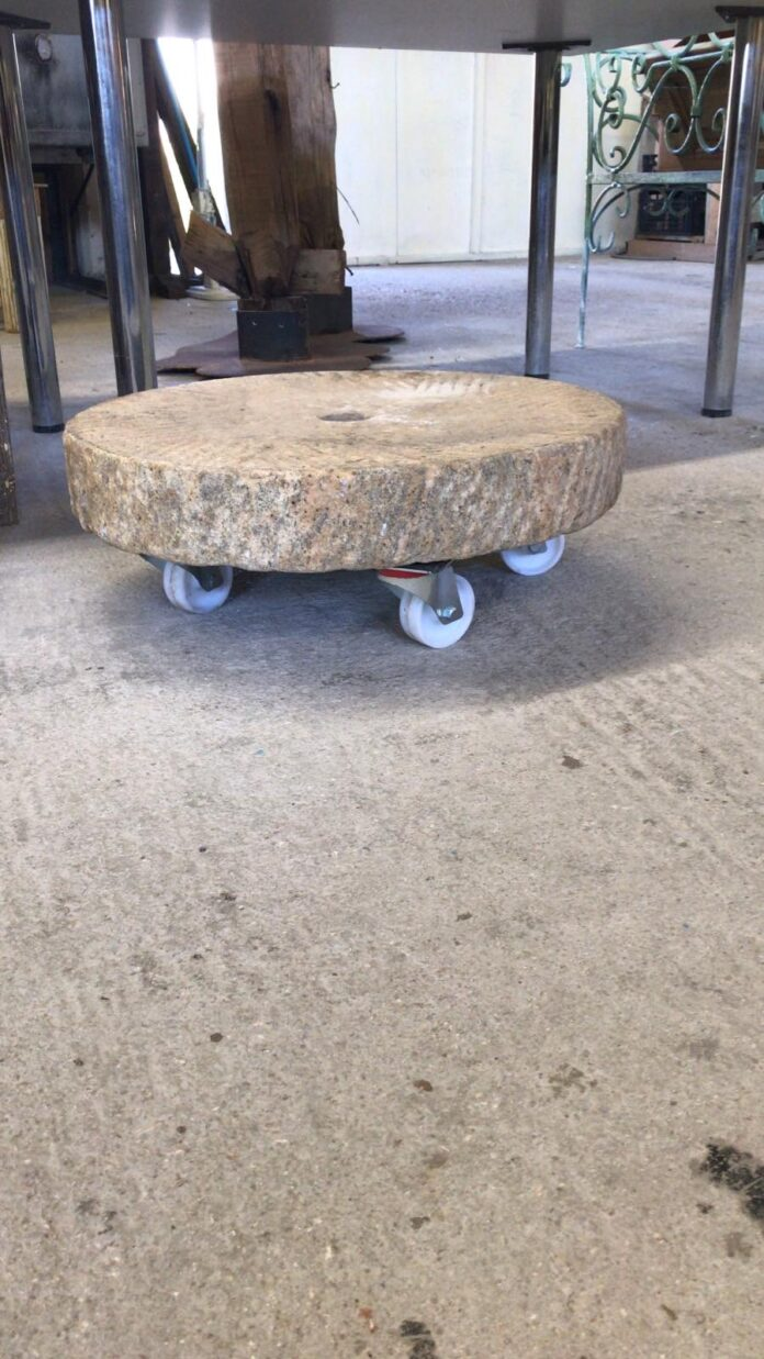 old stone coffee table