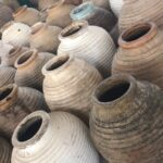 greek oil pots