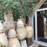 old greek oil pots