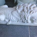 white greek marble sculptures