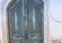 greek old doors