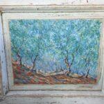 paintings on old wood