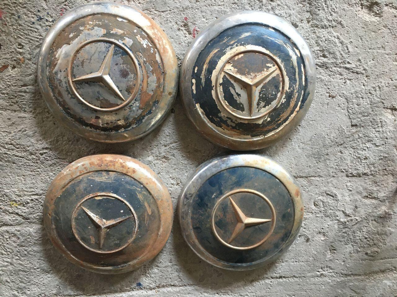 Mercedes ponton, hubcaps since 1960
