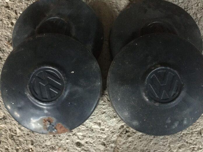 Volkswagen, hubcaps authentic old