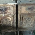 Old wooden furniture