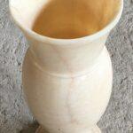 Marble onix vase