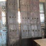greek old door