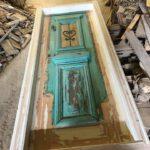 greek old doors