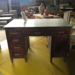 Office table, greek old furniture