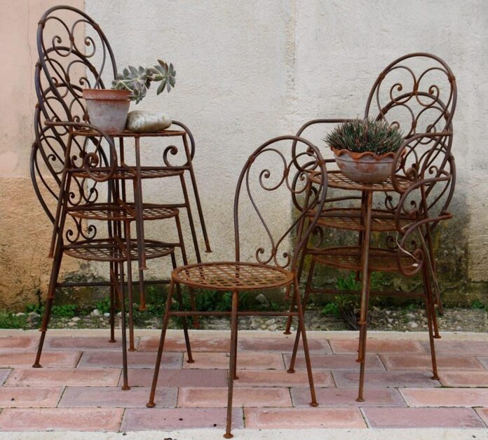 greek old chairs