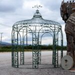 Pergola, gazepo greek metal vintage furniture