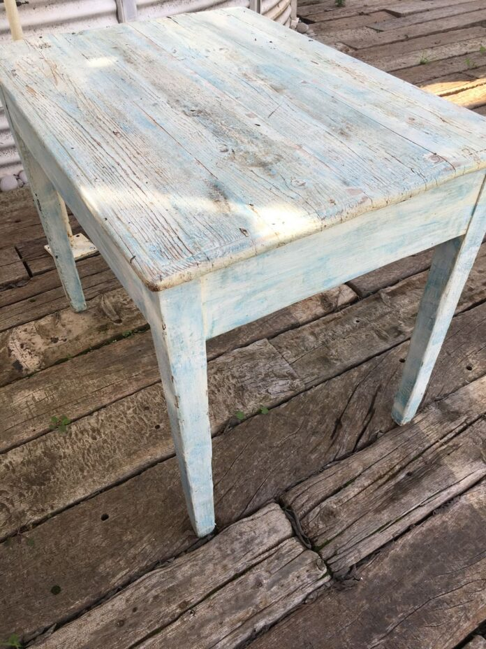 lunch table, greek old wooden table vintage