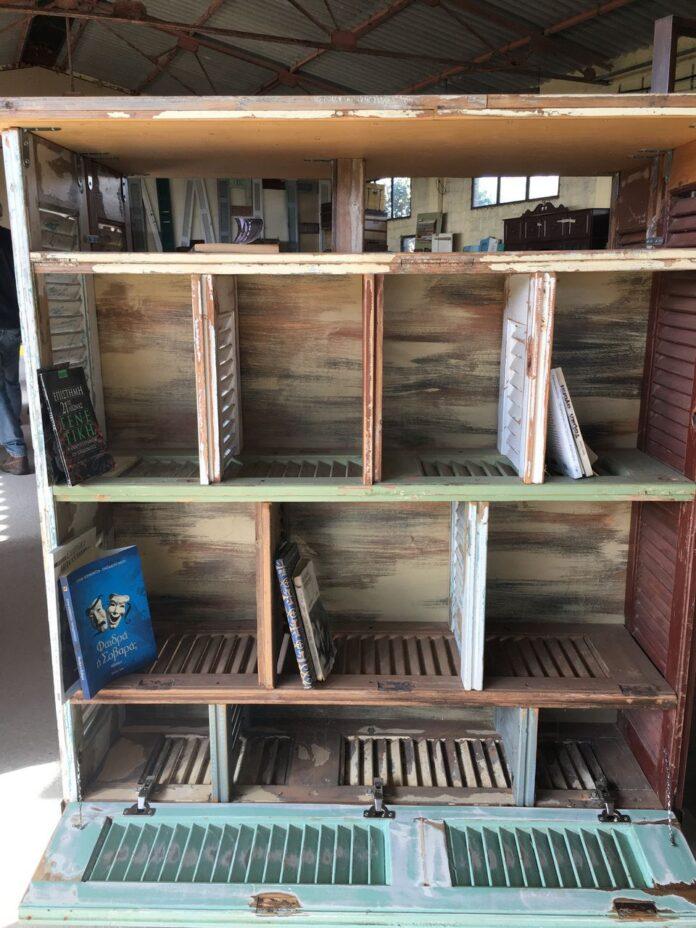 greek old wood, shutters