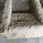 Sink, washbasin, bathtub, trough made by greek old mineral stone, stone working