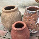 greek old pots