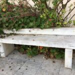 bench greek old marble
